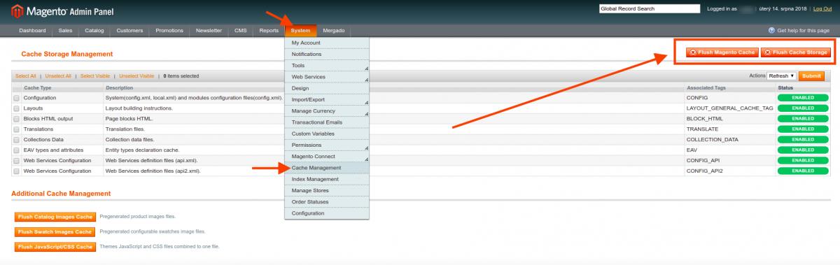 Mergado Marketing Pack module for Magento, Mergado com